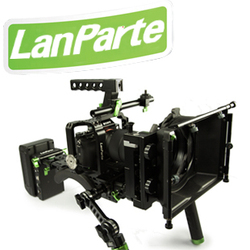 DSLR camera shoulder rig with follow focus for a7 a7s a7r lumix GH4 Lanparte