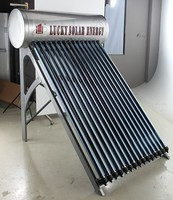 Stainless Steel Housing Material and Batch / ICS (Passive) Heating System Swimming pool solar water heater