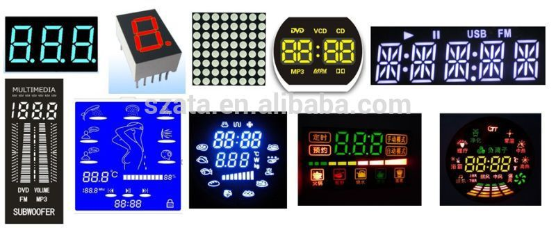 LED Display Module Panel 5x7 8x8 16x16 Rgb LED Dot Matrix