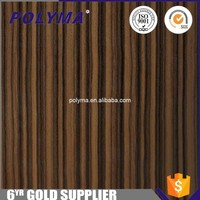 China Manufacturer Hot Sale Matte Zebrano Wood Veneer