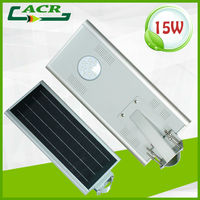 integrated solar led street light with integration monocrystalline silicon panle