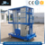 Mobile hydraulic multi-mast aluminum lift working platform/ hydraulic one mast aluminum alloy man lift