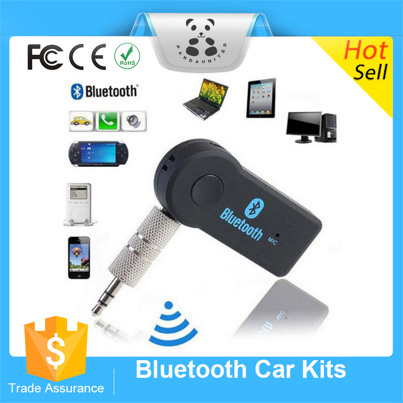 Factory Supply Bluetooth Aux Audio Receiver Adapter 3.5MM Bluetooth Handsfree kit Stereo Music Receiver