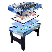Hot selling custom detachable indoor outdoor kids 7ft 8ft 9ft multi 4 in 1 game table