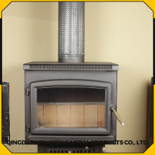 Modern steel plate door stove Wood Burning Stove cast iron stove