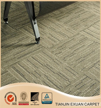 high quality Rubber backed carpet tiles