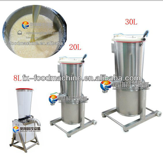 FC-310 ginger garlic onion potato mango grinding paste crushing machine equipment