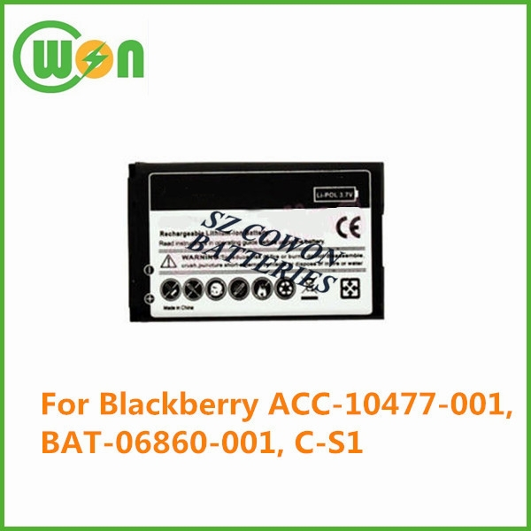 Lithium ion replacement battery for Blackberry 7100 ACC-10477-001 BAT-06860-001 C-S1 ACC-07494-001