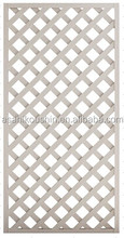 Plastic Lattice Fence with variable colors