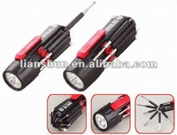 multi-function screwdriver with torch