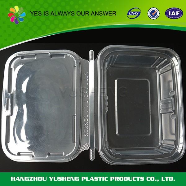 Wholesale new design environmental disposable plastic food storage containers with lids