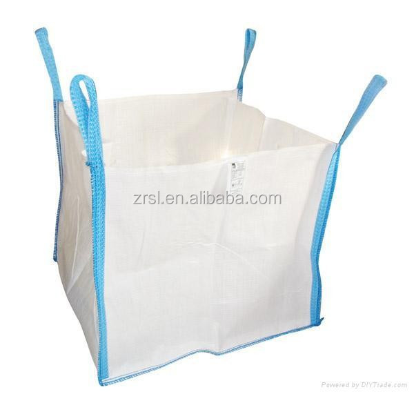 pp jumbo bag/pp big bag/ton bag (for sand,building material,chemical,fertilizer,flour ,sugar etc) factory PH4
