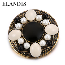 Fashion Tomorrowland Movie Jewelry Round Alloy Metal Badge Brooch