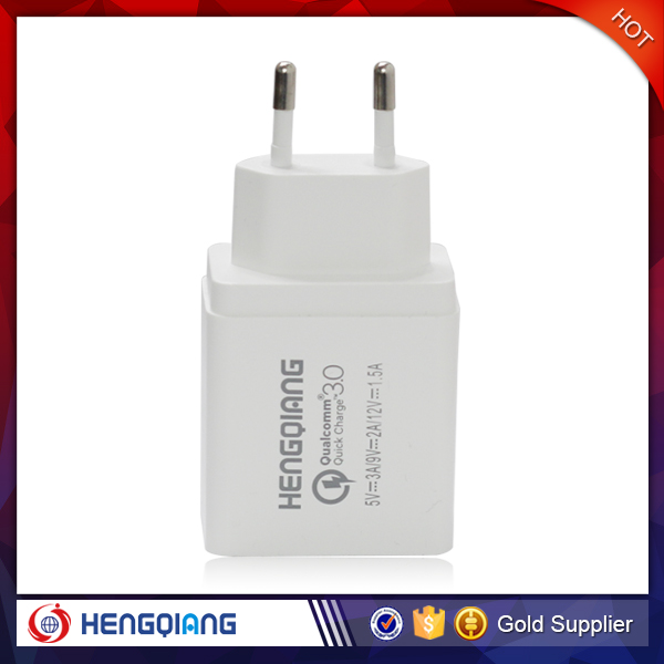 Wholesale USB wall charger plug 5V 3A , EU regulation charger plug