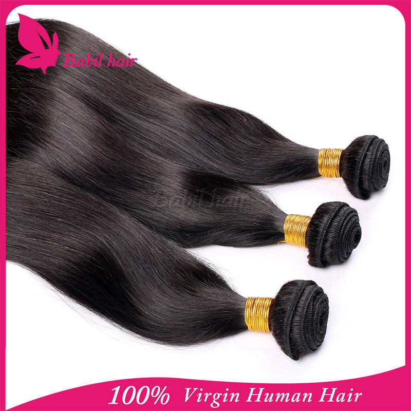 100% Unprocessed human hair extension Grade 7a Good quality virgin collagen protein hair