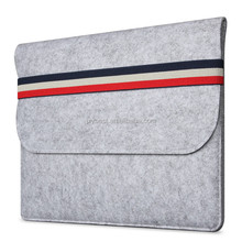 High quality Felt Sleeve Carrying bag Travel Laptop bag for Apple Macbook 13.3 inch