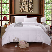 Wholesale white duvet inner goose down quilt