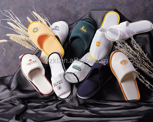 Customized Design Terry Women Slipper Comfortable Terry Hotel Slipper/Hotel Man Shoes