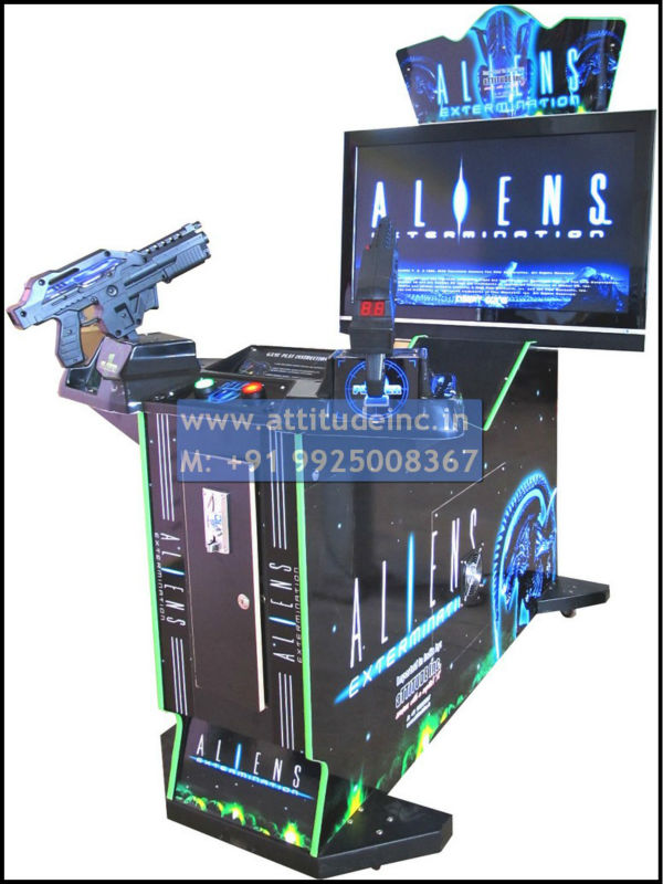 "Aliens 42"" Gun Shooting"