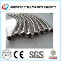 Steam Irons Machine type stainless steel wire braided ptfe hose and Industrial Use Teflon Hose