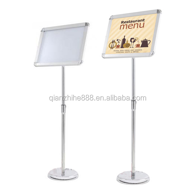Cheap a3 Industrial 3d color movie poster display stand