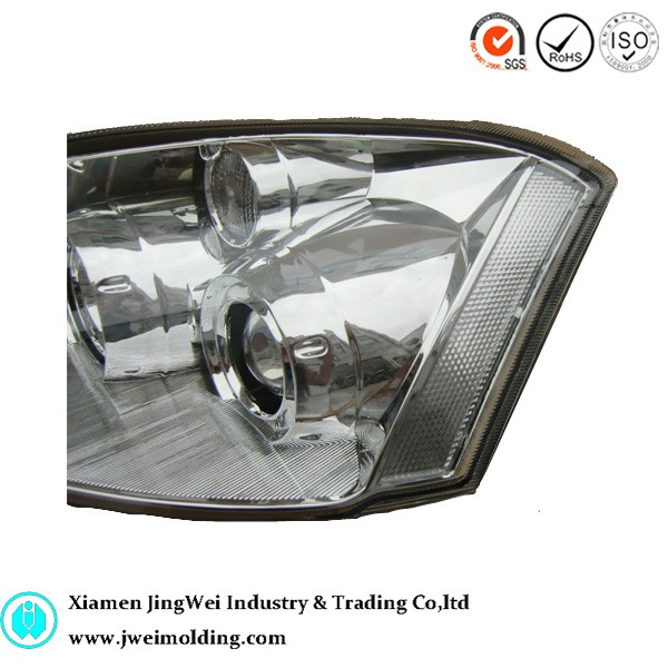 LED lighted car head lamp plastic injection mould factory