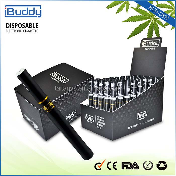 2016 Excellent OEM/ODM Supplier Bud-DS92 cbd Empty Cartridges Bulk Disposable E Cigarette Manufacture