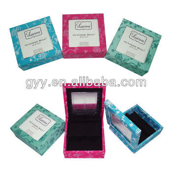 Rigid cosmetic packing box
