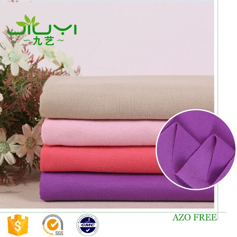 Hot sale cheap 100% polyester double interlock knitted fabric