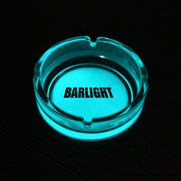 From GMTlight Glass Made Glow In The Dark Ashtray