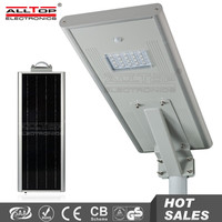 Outdoor IP67 waterproof bridgelux cob 18w 12v led solar street light