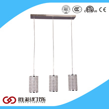 China new design led lighting fixture crystal chandelier for bar