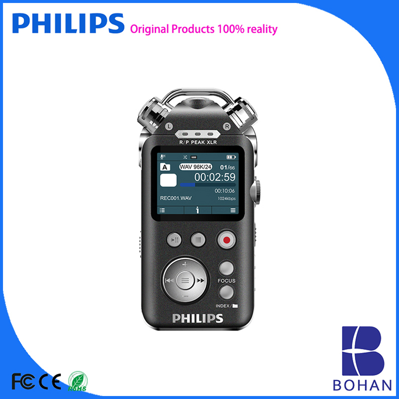 PHILIPS 16GB USB 12 Channels Recording Peak Valur Alet AAC FLAC APE Buy Audio Recorder