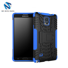 Mei Zhou Bang 2 in 1 shockproof phone covers TPU protective cover case for samsung galaxy note 4