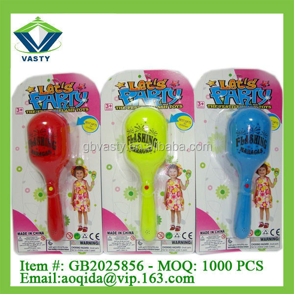 plastic party hammer toys flash noise maker