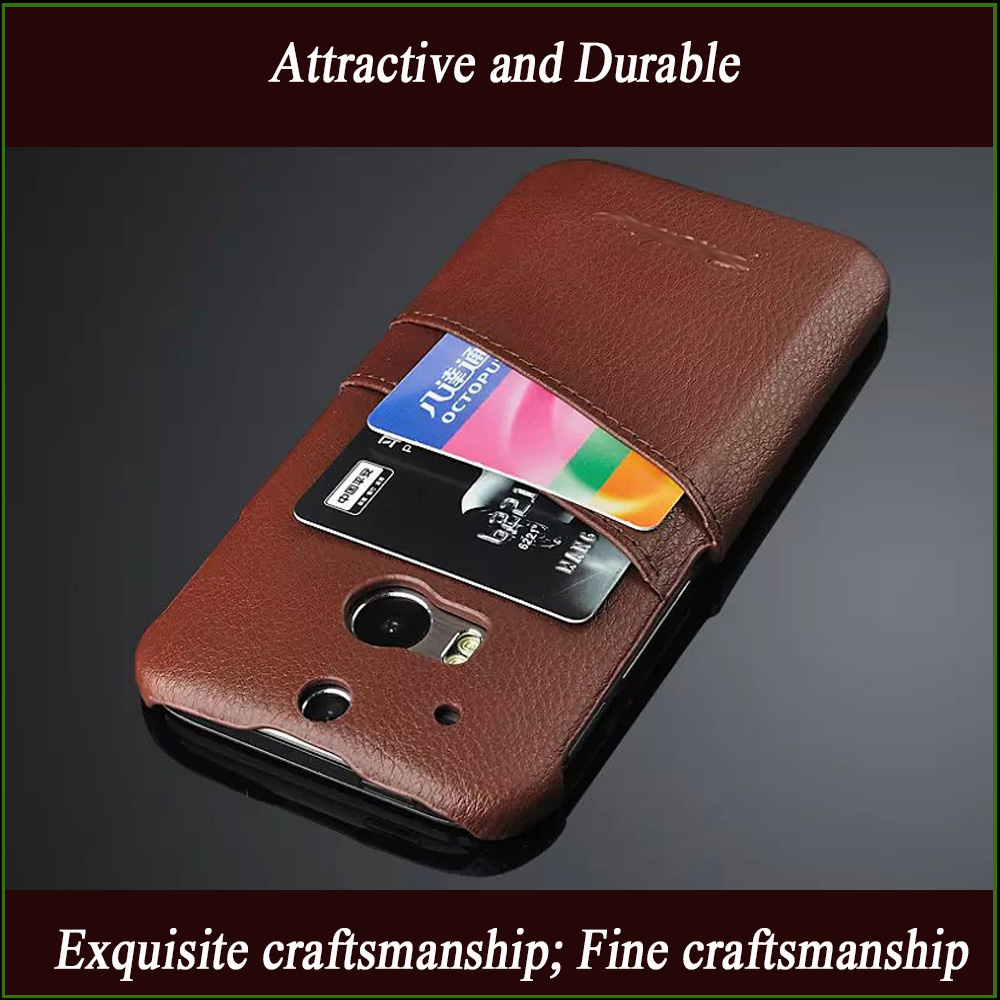 New arrival PU shockproof phone cover case for HTC One M8