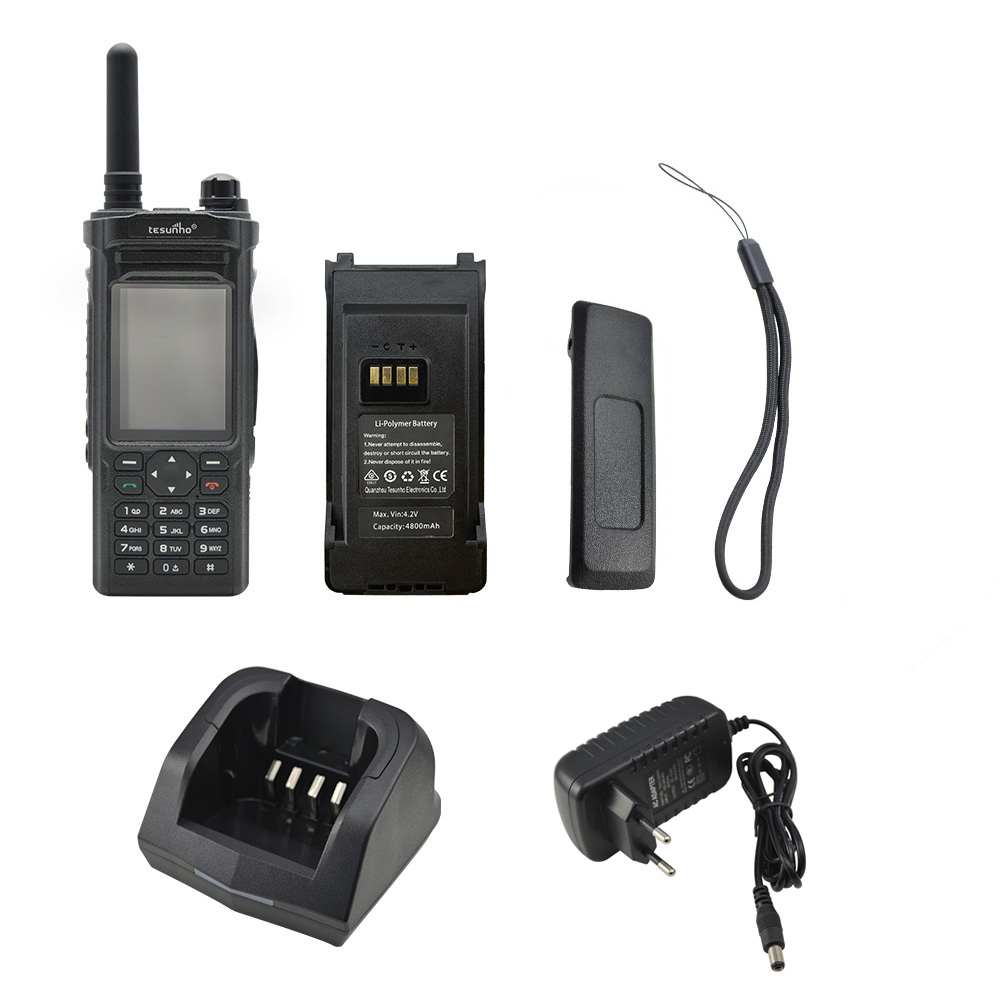 TESUNHO TH-588 Push to Talk Bluetooth Walkie Talkie VoIP Over Wi-Fi