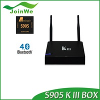 2016 KIII Google Android 5.1 Smart TV Box RK3368 64bits Octa Core 2G+8G hd sex pron video tv box