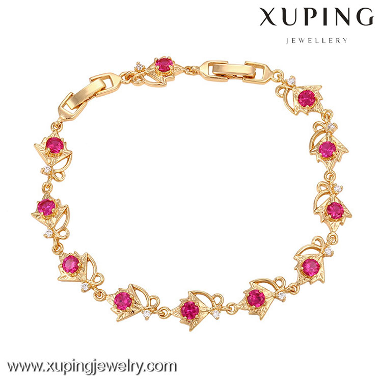 73731-Xuping Wholesale Fashion Bracelet Charms Copper Jewelry