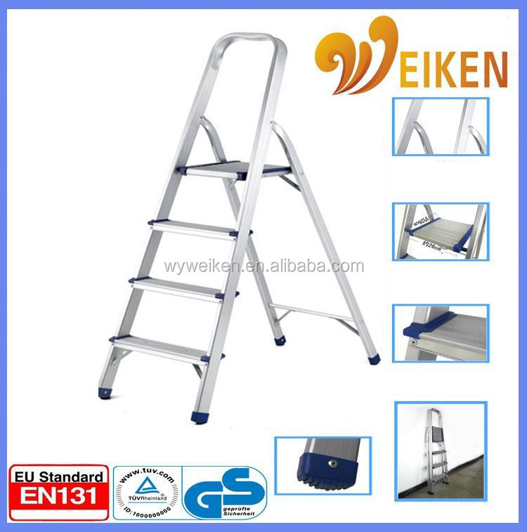 WK-AL204 Domestic Ladders Type and Step Ladders Structure ladder folding work bench