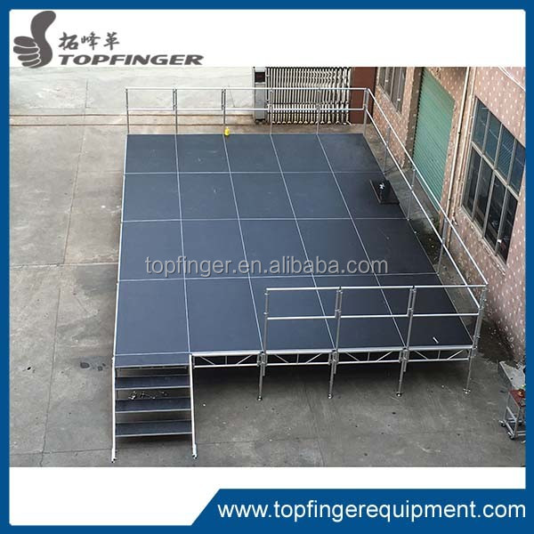 Paypal accept portable stage platform, stage risers for sale, mobile hydraulic stage