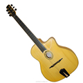 7 Strings Natural Colour Fully Handmade Gypsy Guitar