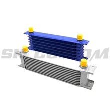 Aluminum Cooler AN10 Universal Engine Oil Cooler Core Blue Oil Cooler