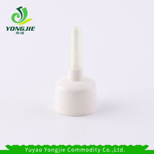 OEM high quality long tip nozzle cap screw cap plastic spout cap