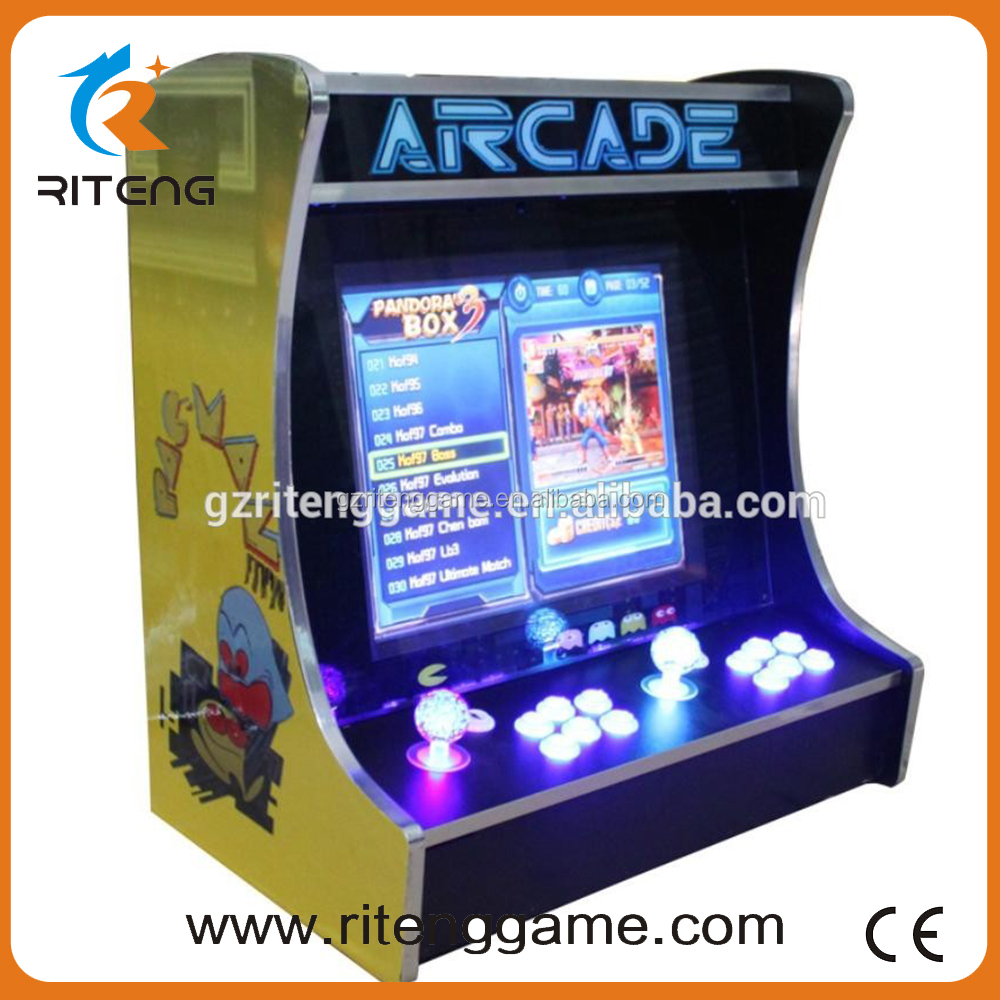 19 inch LCD Mini table top arcade mini bartop arcade