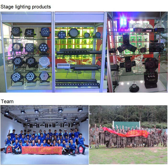 RGBWA or RGBWA + UV LED stage outdoor par light