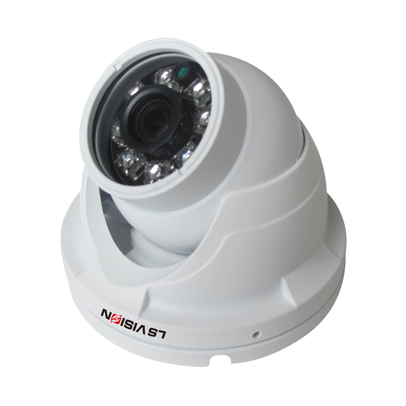 LS VISION 1080P HD Hybrid Real WDR Camera with Night Vision Waterproof Security Camera for Gas Station