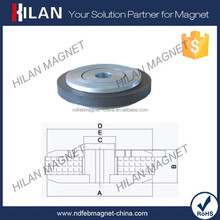 High Quality Permanent Ferrite Speaker Drivers Magnet