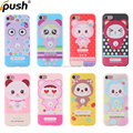 Supper cute tpu cell phone case cartoon case with 3D sublimation TPU Case for iphone 7 back cover cell phone accessories