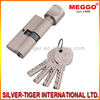 Single Open Brass Lock Cylinder With